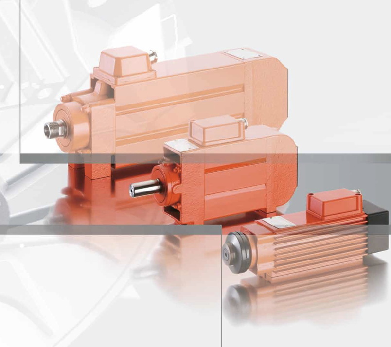 three-phase flat motors spindle drives